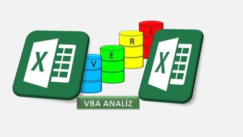Excel VBA İle Veri Analizi & İş Analizi(Çözümlü Uygulamalar)
