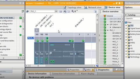 SIEMENS S7-1200 PLC KTP HMI & WINCC SCADA COURSE URDU HINDI