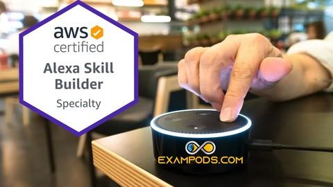 AWS Certified Alexa Skill Builder Practice Exam | Exampods