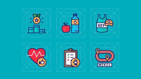 Aprende el diseño profesional de Iconos