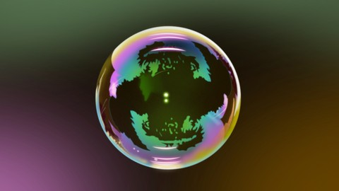 Drawing a Realistic Transparent Bubble. 100% Vector Artwork.