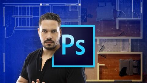Aprende Photoshop para Arquitectura: Retoque y montajes.