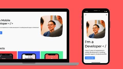 Flutter Web: Create A Responsive Sleek Developer Portfolio