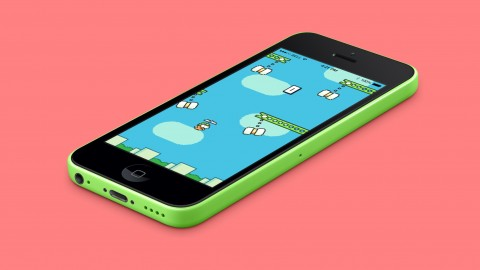 Game Reskinning. iOS Swing Copters* Source Code Template