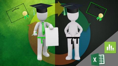 Dual Certification Lean Six Sigma Green Belt and Black Belt