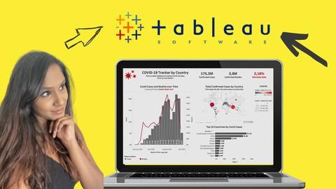 Tableau Crash Course 2021: Build & Share COVID19 Dashboards
