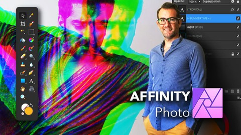 AFFINITY Photo   Initiation - Outils + Créations graphique