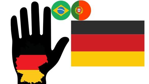 Alemão 5 palavras - Curso 1 grátis em português (A1)