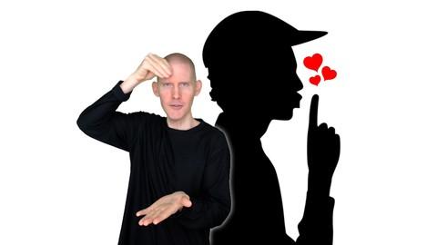 ASL Level 1 | Action Verb Sentences | American Sign Language