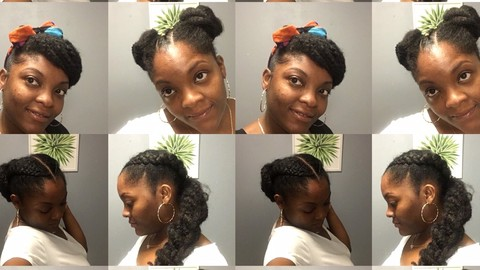 How to style afro hair- beginners guide
