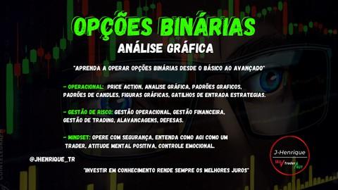 CURSO OPÇÕES BINÁRIAS - ANÁLISE GRÁFICA