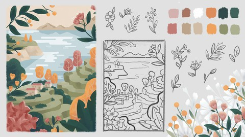 Freelancer's Illustration Process