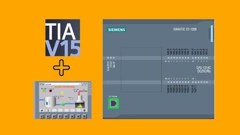Siemens S7-1200 PLC & WinCC HMI with TIA Portal (Urdu/Hindi)