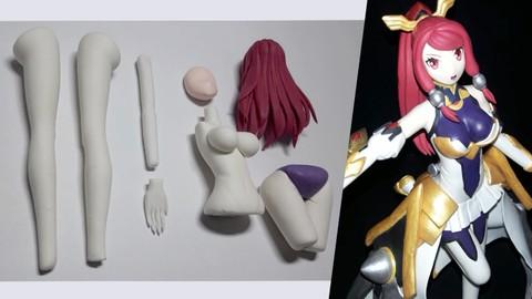 Curso de Escultura y Modelado con porcelana - Desde Cero
