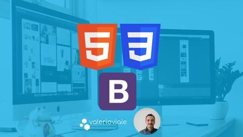 Impara HTML5, CSS3 e Bootstrap da zero.