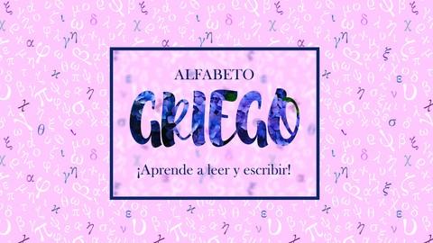 Alfabeto Griego - Greek - Grego