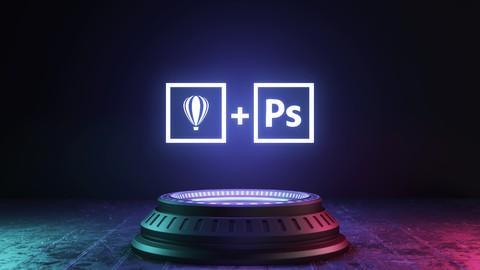 Formação - Designer Gráfico em Corel Draw+Lição em Photoshop