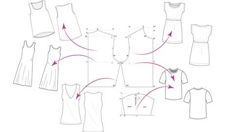 Pattern Making : Dartless Basic Block ( Beginner Friendly )