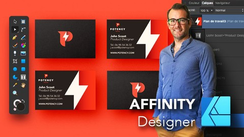 AFFINITY Designer | Initiation - Outils + Ateliers Créatifs