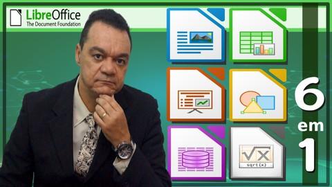 LibreOffice COMPLETO do Básico ao Avançado, Windows ou Linux
