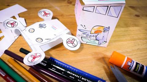 Minicrew: Giorgio's Birdhouse and Drone