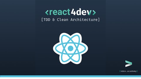 ReactJS, Hooks, Recoil, TDD, Clean Architecture, SOLID