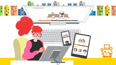 WEBデザイン講座 Level2《ステップアップ》コース※FlexboxとメディアクエリでレスポンシブWEBサイトを作る