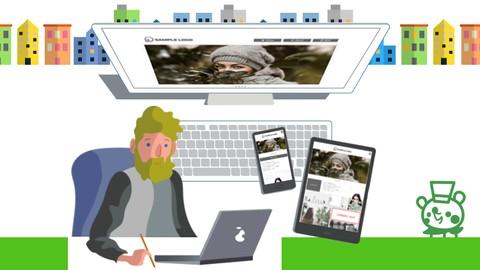 WEBデザイン講座 Level3《レベルアップ》コース※グリッドレイアウトでレスポンシブ対応のWEBページを作成する