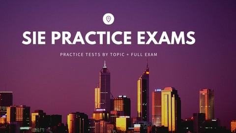 SIE practice tests + Full Exam