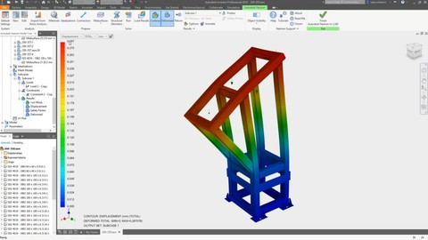 Inventor Nastran - Mechanical and structural simulation