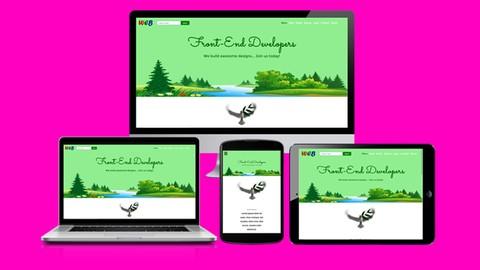 Complete Website Design Bootcamp! Front-End Web Development