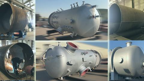 Pressure Vessel Fabrication -Mechanical Engineering, Oil&Gas