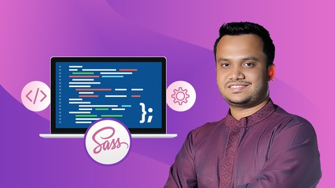 Sass: Complete Sass Course (CSS Preprocessor) With Projects