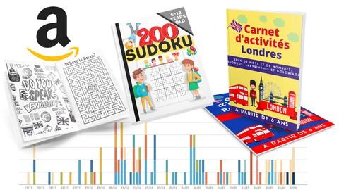 Vendre des cahiers de coloriage, sudokus et jeux sur Amazon