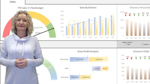 Mastering Excel Dashboard Creation and Data Visualizations