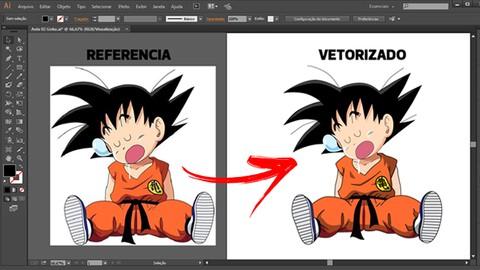 Vetorização no Illustrator do Zero ao Avançado