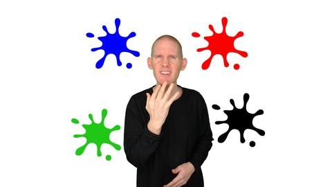 ASL Level 1 | Color/Noun Dialogues | American Sign Language