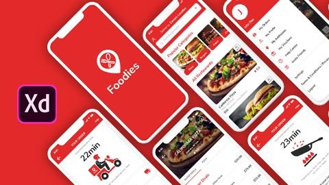 Build Real World Food App In Adobe XD 2021