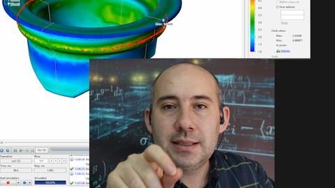 QForm3D Sıcak Dövme Kalıp Analizleri
