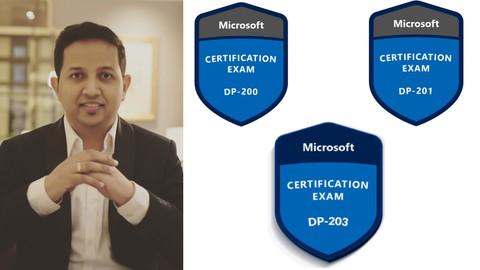 Azure Data Engineer Certified:[8 COURSE BUNDLE] DP-203 DP200