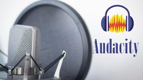 Gravação e edição de voz com Audacity