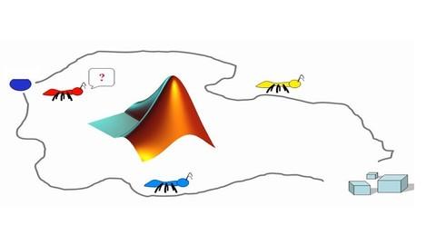 Karınca Kolonisi Algoritması Matlab Kod Yazımı+GSP Çözümü
