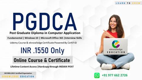 Post Graduate Diploma in Computer Application (PGDCA)