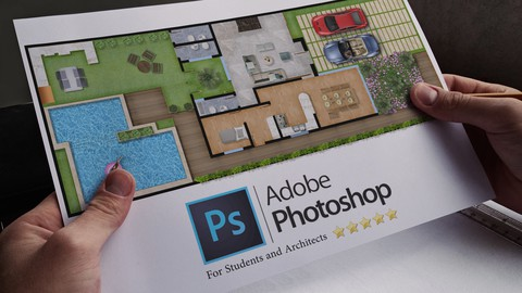 Rendering Architectural Plans using Photoshop