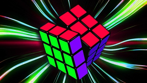 Cubo mágico Profissional Monte o Cubo em 15 segundos