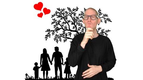 ASL Level 1 | Family Adj Dialogues | American Sign Language