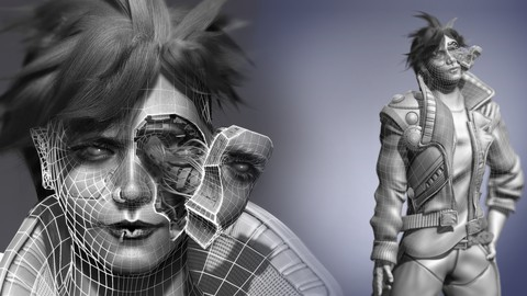 Learners Guide to 3D Character Creation Vol 1: Zbrush 2021