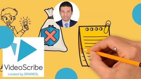 Learn Whiteboard Animation with VideoScribe (وايت بوورد)
