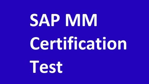 SAP MM Certification Question (C_TSCM52_67)