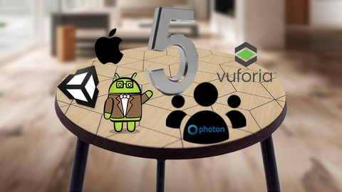 Transform 5 games Augmented Reality using Vuforia in Unity3D
